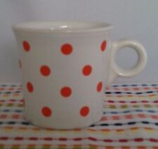 Fiestaware Poppy Dot Ring Handled Mug Fiesta Outlet Exclusive NEW