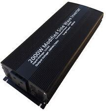 2000w (4000W) Soft start power inverter 2000 watt 12v microwave kettle