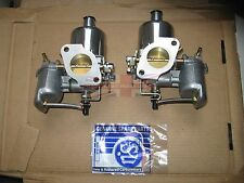 "Pair of Genuine SU Carburetors HS4 1 1/2"" for MGB Completely New Made in the UK"