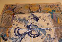 """Hermes 100% silk scarf  """"Mythiques Phoenix Coloriage"""" 90cm"""