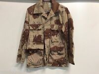 NEW USGI US MILITARY CHOCOLATE CHIP 6 COLOR BDU TOP BLOUSE SZ SMALL   Reg  Army da076079207f