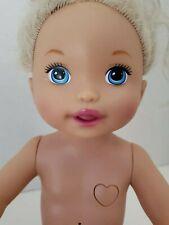"MATTEL Talking Interactive Doll Baby Alive 2011 Make Me Better 14"""
