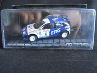 Rally Model Car IXO 1:43 FORD FOCUS RS WRC San Marino 2001 P. Andreucci   [P]