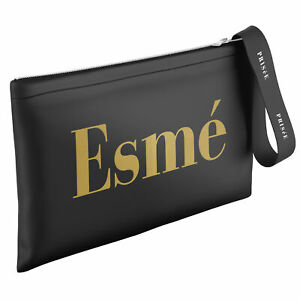 Womens Gold Name Prisee Clutch Multifunctional Personalised Present for Her Xmas