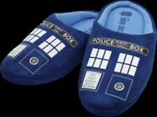 Doctor Who - Tardis - Ladies Printed Slippers - Size 10 | Free Shipping