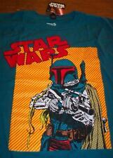 Vintage Style Star Wars Boba Fett The Empire Strikes Back T-Shirt Medium New