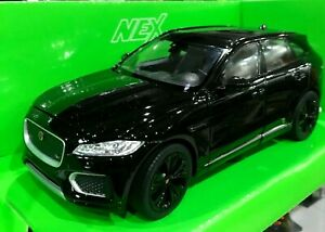 modellino Jaguar F-pace   Welly 1:24 Auto Die-cast Special Edition  Black