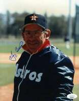 Yogi Berra JSA Coa Autograph Hand Signed 8x10 Astros Photo