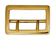 "BRAND NEW BRASS SAM BROWNE 2 1/4"" BELT BUCKLE"