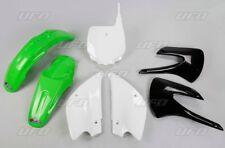 Kit plastique UFO motocross Kawasaki KX 85 2001 - 2012 vert restylé