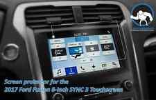 "Anti-glare Tuff Protect Screen Protectors for 2017 Ford Fusion 8"" SYNC 3 (2pcs)"