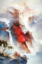 """Hand-painted Original Oil painting art Landscapes On Canvas 24""""x36"""""""