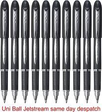 2 X Negro Uni-ball Jetstream sx-210 Premium Roller Ball Pen 1.0 punto Tinta Negra