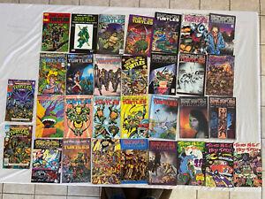Eastman and Laird's TEENAGE MUTANT NINJA TURTLES Mixed Comic Lot Of 31, 1986-91