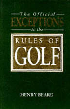 Very Good, Official Exceptions to the Rules of Golf (A John Boswell Associates b