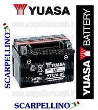 BATTERIA YUASA YTX7A-BS PER HONDA TR FAT CAT 200 cc DAL 1987 -BATTERY