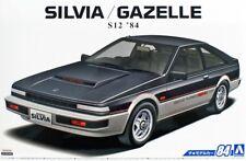 Aoshima 056158 1/24 The Model Car(84)Kit Nissan S12 Silvia/Gazelle Turbo RS-X