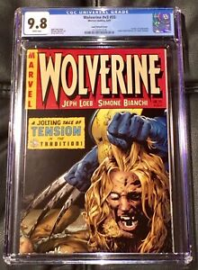 WOLVERINE #V3 #55 CGC 9.8 LAND VARIANT COVER DEATH OF SABRETOOTH