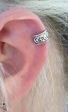 Ear Cuff Moons Stars Earring 925 Sterling Silver Ear Cuff Bohemian Ethnic