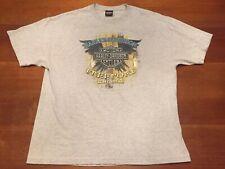 Harley Davidson Brand  T Shirt Freeport Bahamas Gray XL Skull Pirate