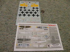 Eagle Strike  decals 1/48 48146 Barbarossa 3 Russia 1941 Messerchmitt BF109 N44