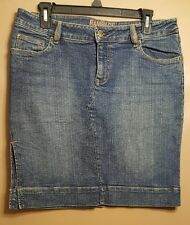 Women's Rampage Blue Denim Jean Skirt Size 9 **NICE**