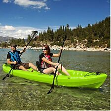 Emotion Spitfire 12' Tandem Sit-On-Kayak, 2 Paddles, Padded Seats, NO TAX