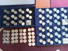 100 x 10 Euro Münzen Deutschland PP Spiegelglanz alle 2002 bis 2010 2 x komplett