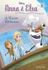 Anna & Elsa #3: A Warm Welcome (Disney Frozen) (Stepping Stone Books), Very Good