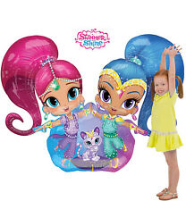 Shimmer And Shine Party Supplies AIRWALKER Foil Balloon Anagram Licensed
