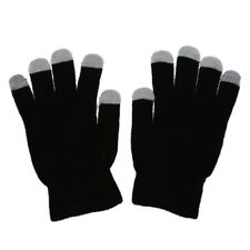 2X(Black touch glove for screen touch itouch ipad iphone Samsung HTC etc ty N5J8