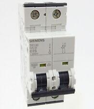 Siemens 5sy42 c25 disyuntor 5sy4225-7 tubería disyuntor 25a 20ka 2p