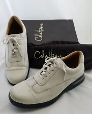 Cole Haan Conner Men's Size 12M White/Ivory w Black NikeAir Sole in Box w Bag