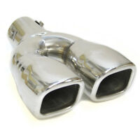 Twin Exhaust Tip Trim Pipe Tail Muffler For Mercedes Benz Viano A C CLC CLS G GL