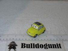 Official Disney Pixar Cars Luigi Yellow Fiat Car Vehicle Diecast