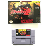 Brandish 2 - The Planet Buster for snes game cartridge english translated