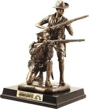 WW1 ANZAC THEIR SPIRIT OF GALLIPOLI BRONZE STATUE LIMITED EDITION 310mm TALL -01