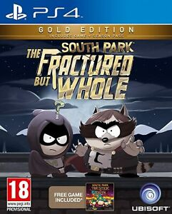 South Park The Fractured But Whole - Gold Edition (Playstation 4) Great Conditio