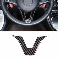 Mercedes Benz GLC C Class W205 X253 Carbon Fiber Steering Wheel trim cover