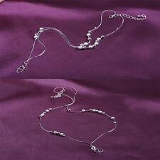 Design Bracelet Foot Silver Anklet Foot Leg Chain Bracelet For Women Girls