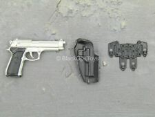 1/6 scale toy Punisher - The Revenger - Silver M9 Beretta w/CQB Holster