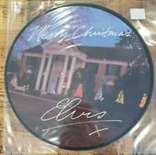 "ELVIS PRESLEY - Merry Christmas ~10"" Vinyl Single *PICTURE DISC*"