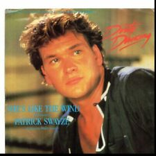 PATRICK SWAYZE SHE'S LIKE THE WIND USED 45RPM  W/PIC SLEEVE