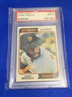1974 Topps Garry Maddox San Francisco Giants #178 PSA 9 MINT