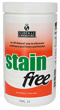 Natural Chemistry 7410 Swimming Pool Spa Stain Free Remover-1.75 lbs