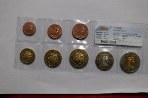 LITHUANIA 2004 FANTASY EURO PATTERN COIN SET B36 #148