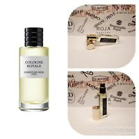 Christian Dior Cologne Royale - 17ml/0.57oz Extract base decante Eau de Parfum