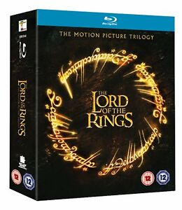 The Lord of the Rings Trilogy 6xDiscs Box set  Blu-ray Region B New and Sealed