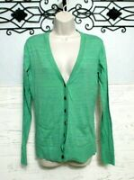 Women's Cabi Sweater Size S Long Sleeve Green