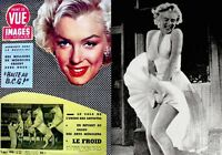 "Marilyn Monroe Magazine 1956 Point De Vue Paris France 10x13"" International Rare"